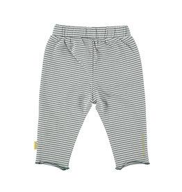 BESS Pants Striped Pockets White