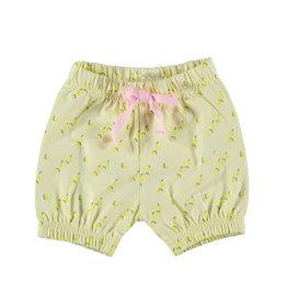 BESS Shorts AOP Lemons Yellow
