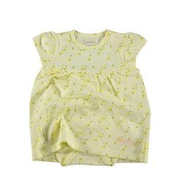 BESS Dress romper AOP Lemons Yellow