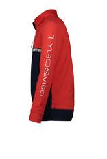 Tygo & vito T&v zip sweater sleeve embro TV 215 Red