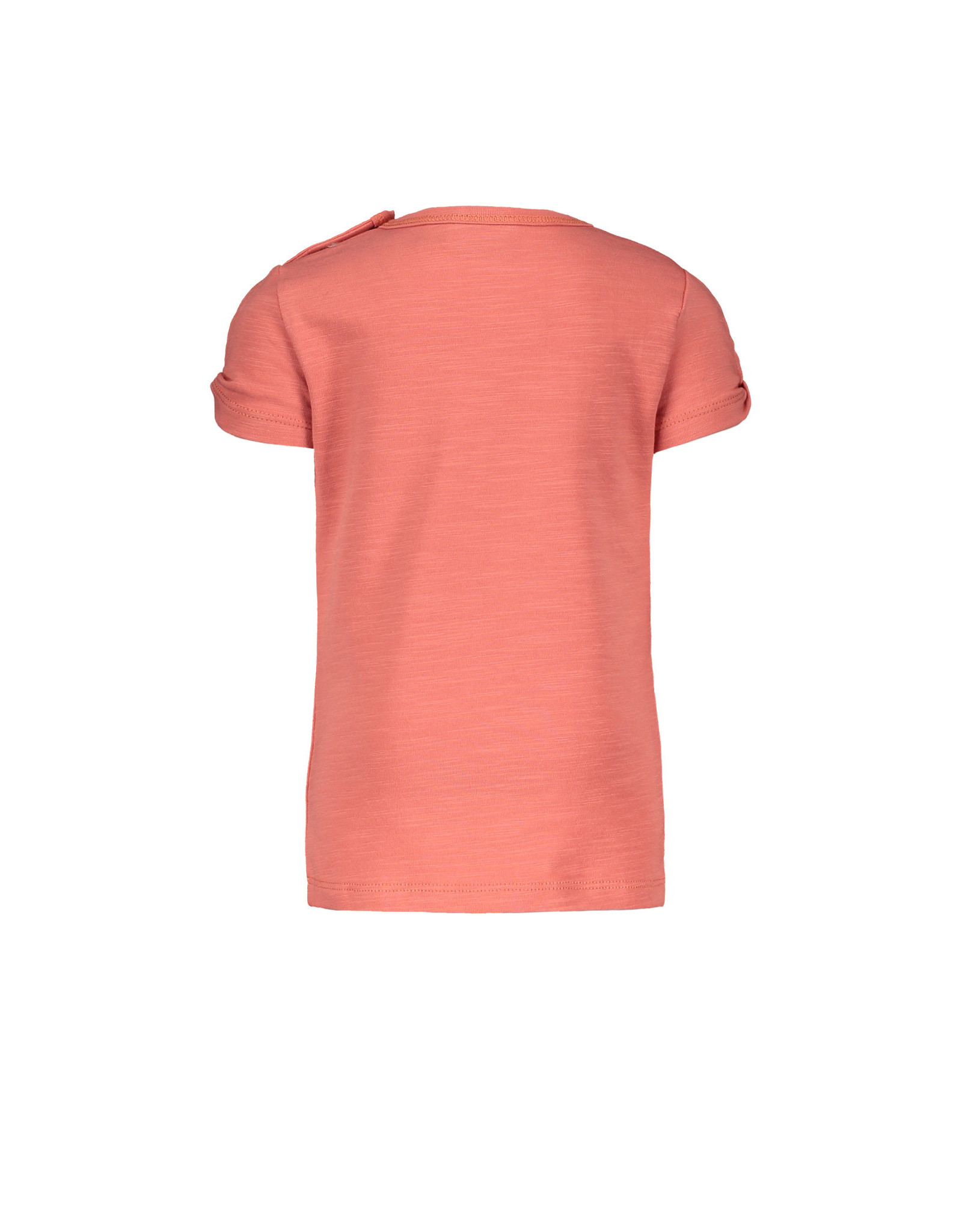 Like Flo Flo baby girls tee open shoulder roll divers 205 Blush