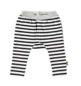 BESS Legging Striped White