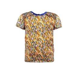 B-nosy Girls curious aop woven blouse 032 Curious ao