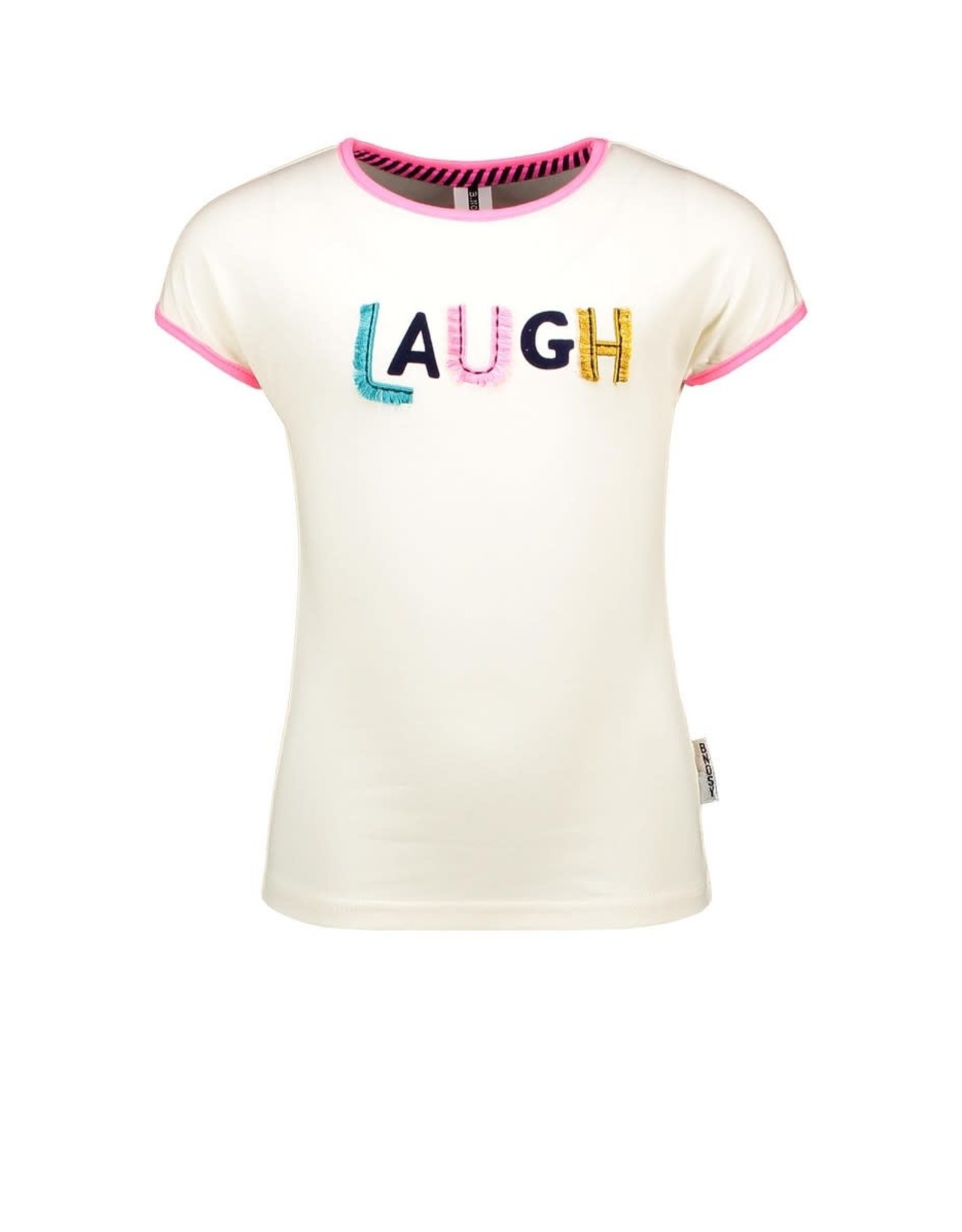 B-nosy Girls t-shirt with fancy chest artwork 012 Cotton