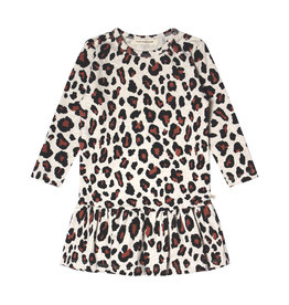 Your Wishes Leopard | LS Shift Dress Terra