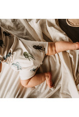 Your Wishes Jellyfish | SS Onesie Old Green
