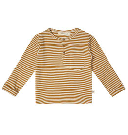 Your Wishes Gold Stripes | Grandpa Longsleeve Soft yellow