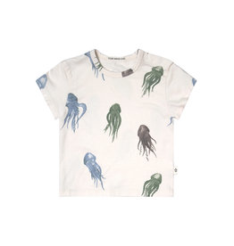 Your Wishes Jellyfish | Loose Tee Multicolor