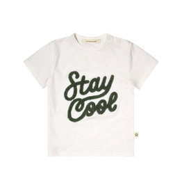 Your Wishes Cool  t-shirt offwhite-Green Denim Blue