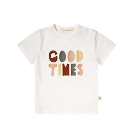 Your Wishes Good Times t-shirt off-white Old Green multicolor