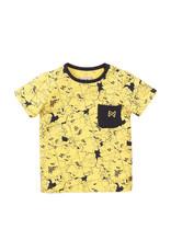 Koko Noko Boys T-shirt ss Light yellow