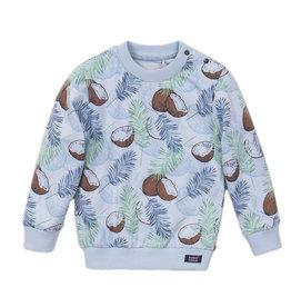 Koko Noko Sweater ls Light blue + a.o.p.