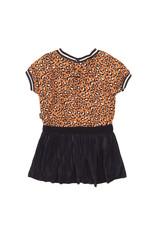 Koko Noko Girls Dress ss Navy + orange
