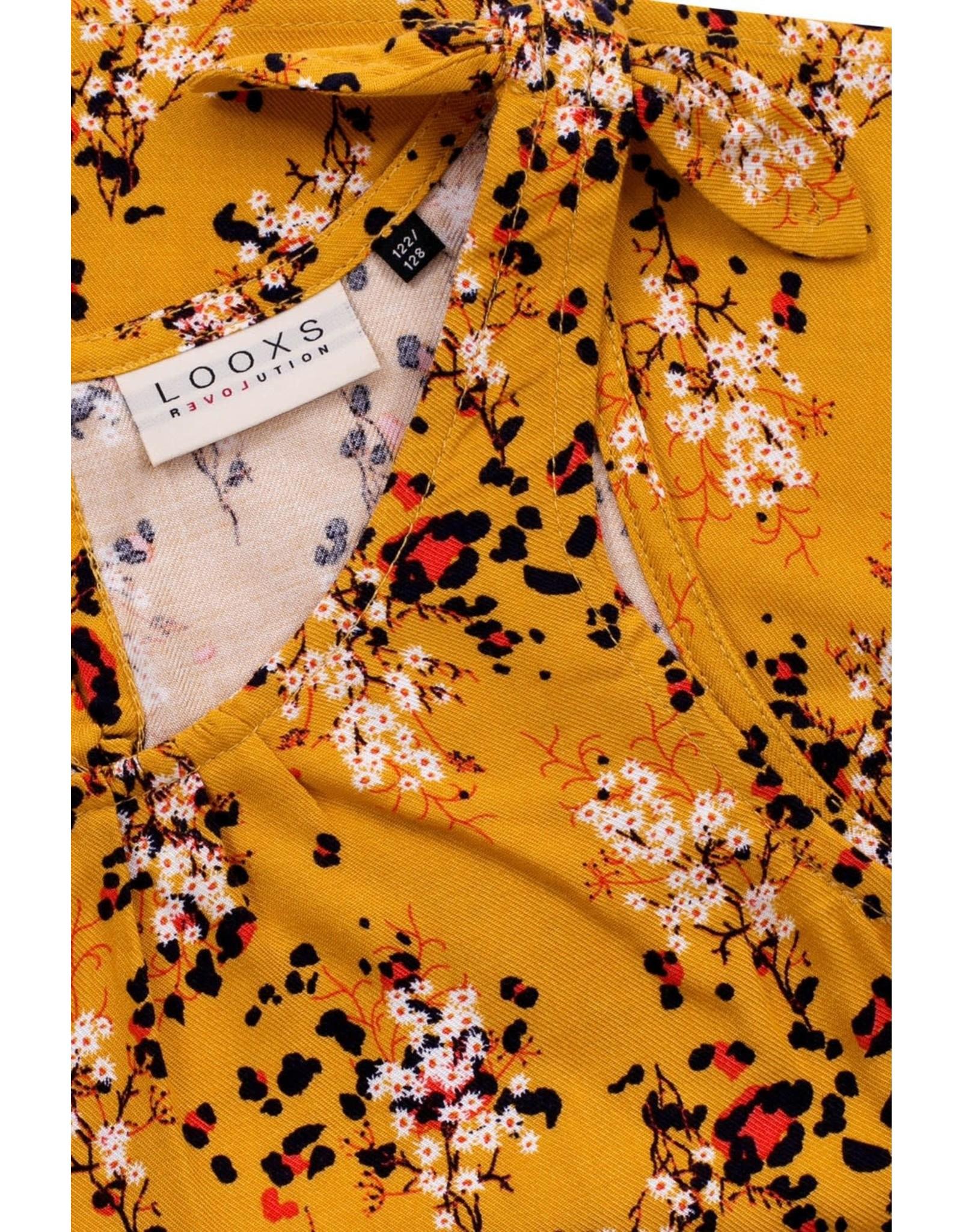 Looxs 10Sixteen Woven printed top FLORA AO
