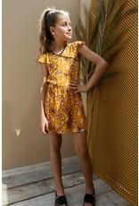 Looxs 10Sixteen Woven printed dress FLORA AO