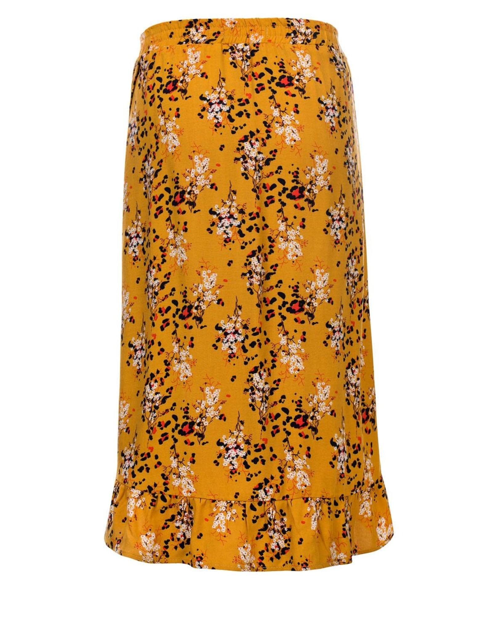 Looxs 10Sixteen Woven printed long skirt FLORA AO