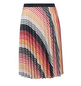 Looxs 10Sixteen pleated skirt GRADIENT STRIPE