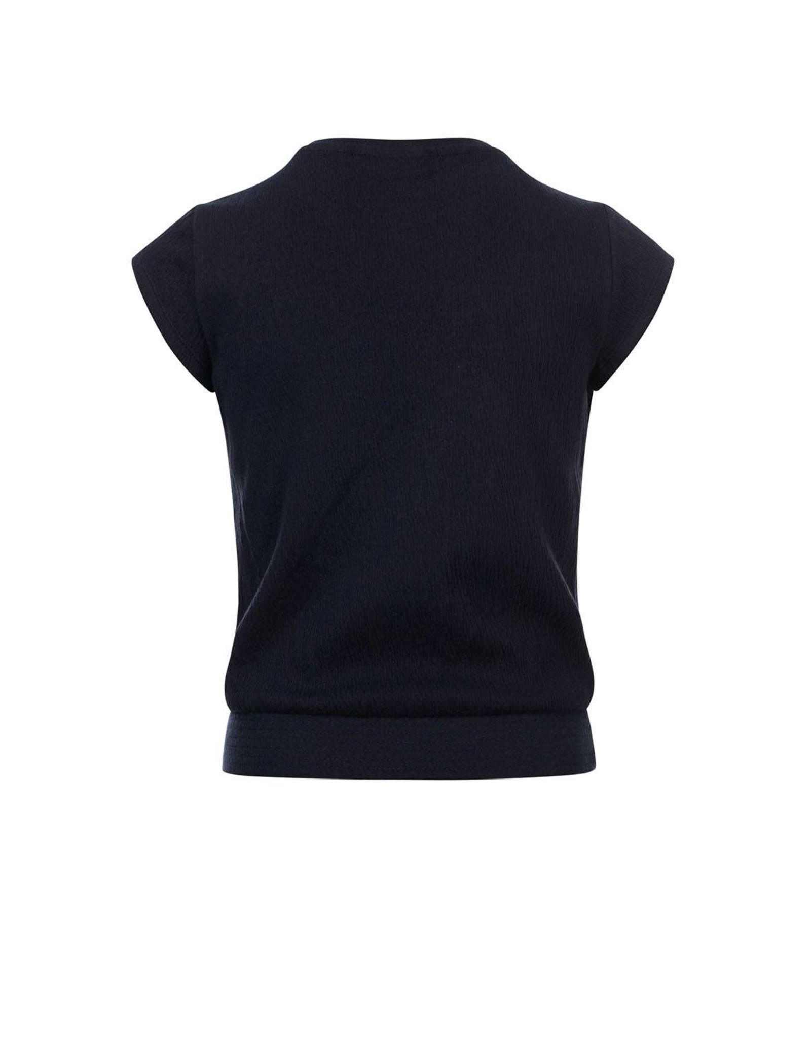 Looxs 10Sixteen Crinkle jersey top OXFORD BLUE