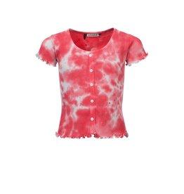 Looxs 10Sixteen T-shirt Tie Dye Blush