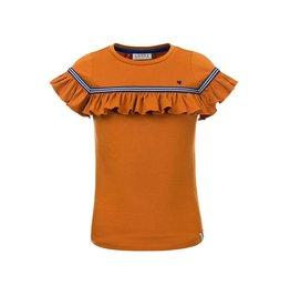 Looxs Little t-shirt s. sleeve OCHRE