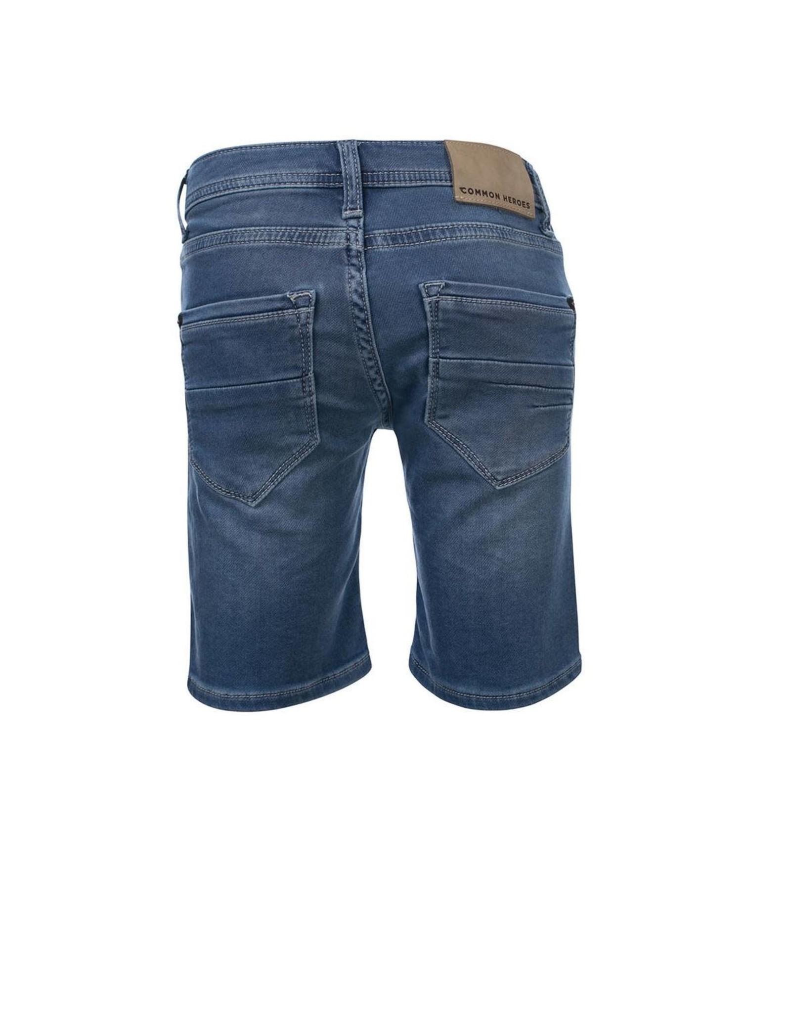 Common Heroes DEAN Jog denim shorts Light wash