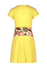 Like Flo Flo girls high waist smock dress 585 Lemon