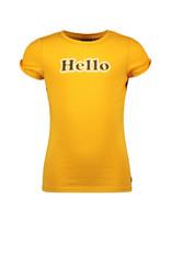Like Flo Flo girls jersey tee open shoulder roll 540 Sunflower