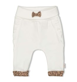 Feetje Broek - Panther Cutie Off white