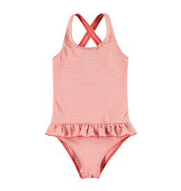 Looxs Little swimsuit RED STRIIPE