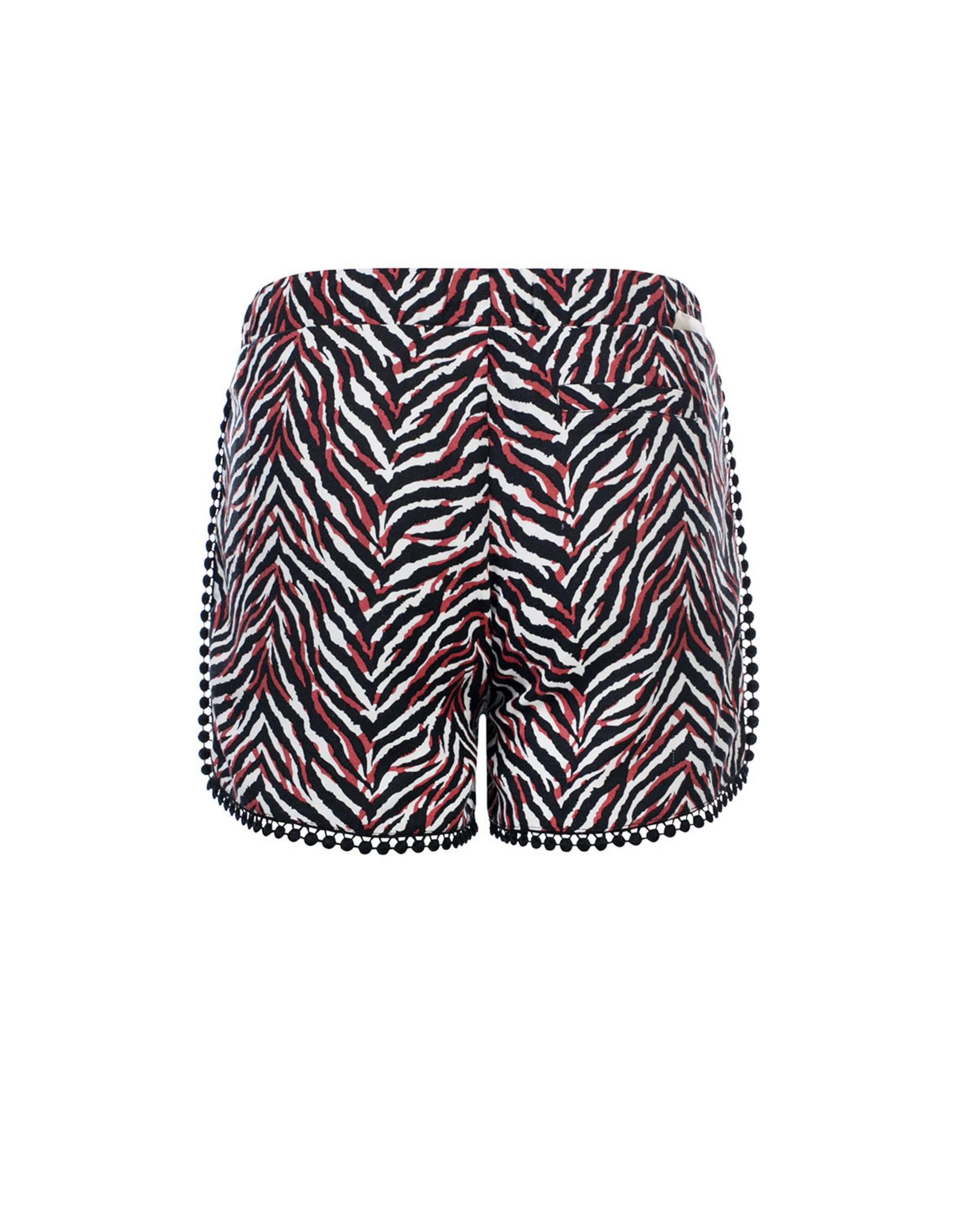 Looxs 10Sixteen Woven printed shorts ZEBRA