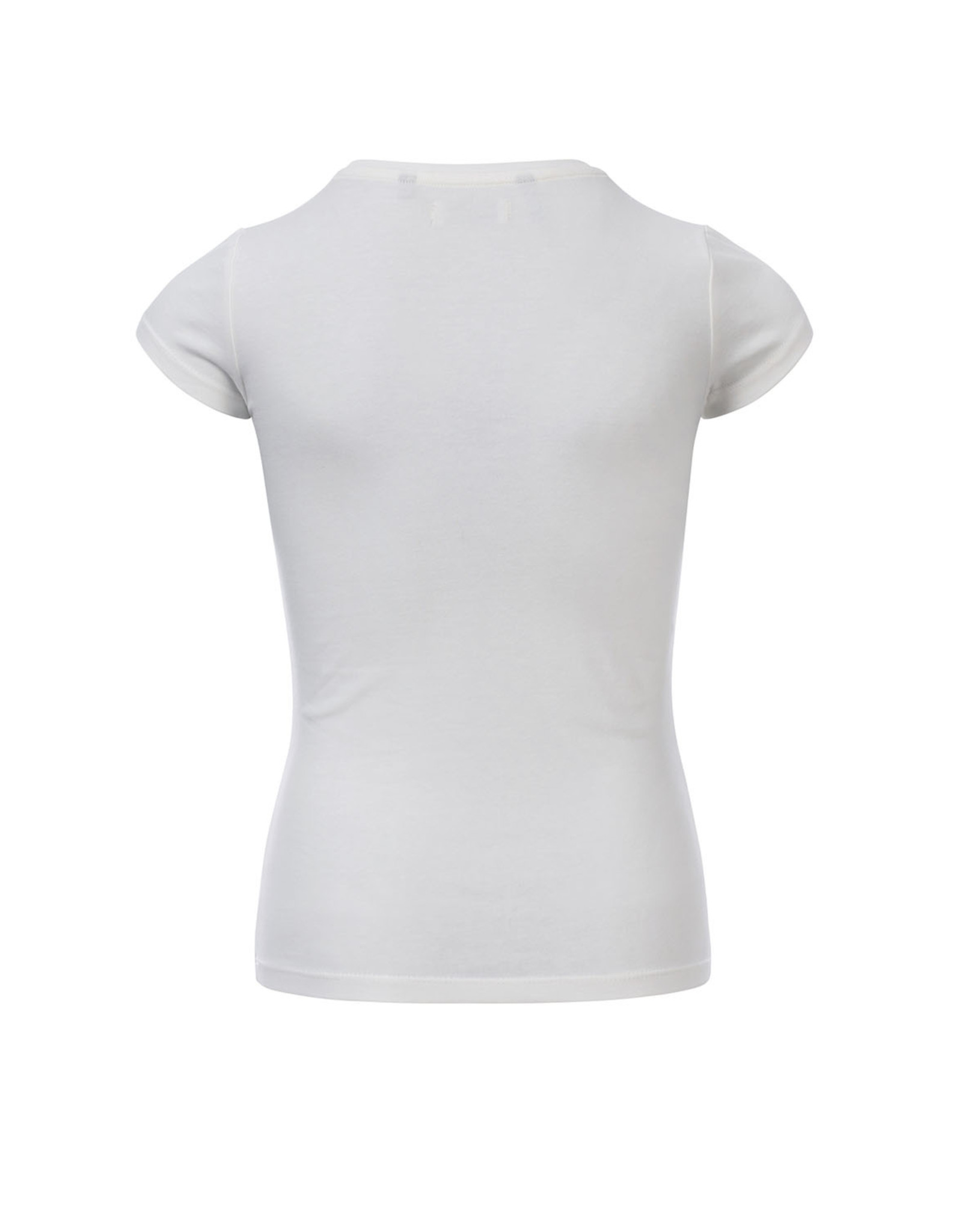 Looxs 10Sixteen T-shirt white lilly