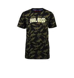 Tygo & vito T&v T-shirt AO CRODODILE 099 Black