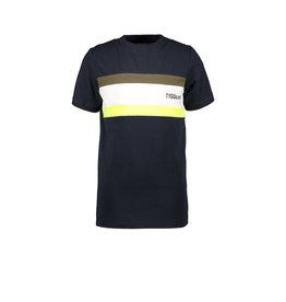 Tygo & vito T&v T-shirt colourblock SMALL LOGO 099 Black