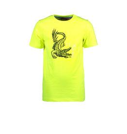 Tygo & vito T&v neon T-shirt CROCODILE 540 safety yellow