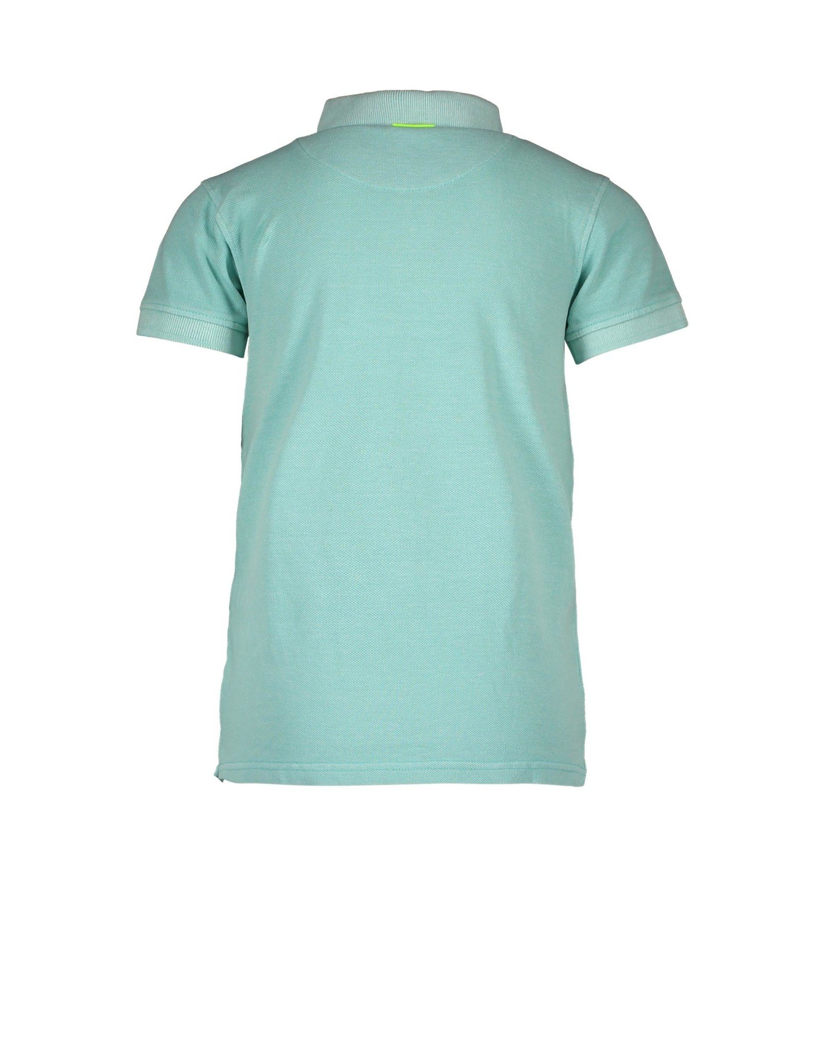 B-nosy Baby boys polo shirt with embro on chest 316 Ice Green