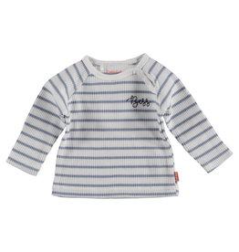 BESS Sweater l. sl. Striped White
