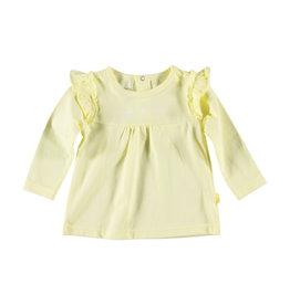 BESS Shirt l.sl. Ruffles Yellow