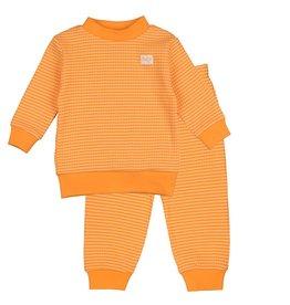 Feetje Pyjama wafel limited Orange