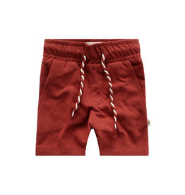 Your Wishes Solid Burnt Sienna | Long Short Dark Rust
