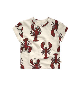 Your Wishes Lobster | Loose Tee Dark Rust