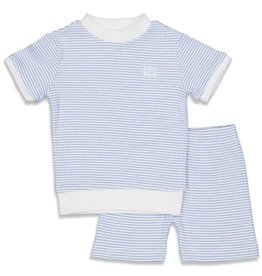 Feetje Pyjama kort wafel Blue NOS