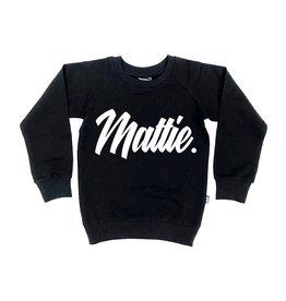 KMDB Sweater Mattie Black/White