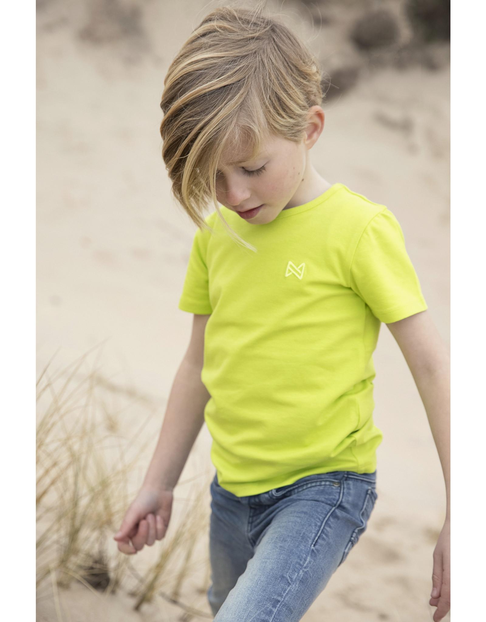 Koko Noko Boys Nigel -shirt ss Bio Cotton Neon yellow NOS