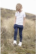 Koko Noko Boys Noah polo ss Bio Cotton White NOS