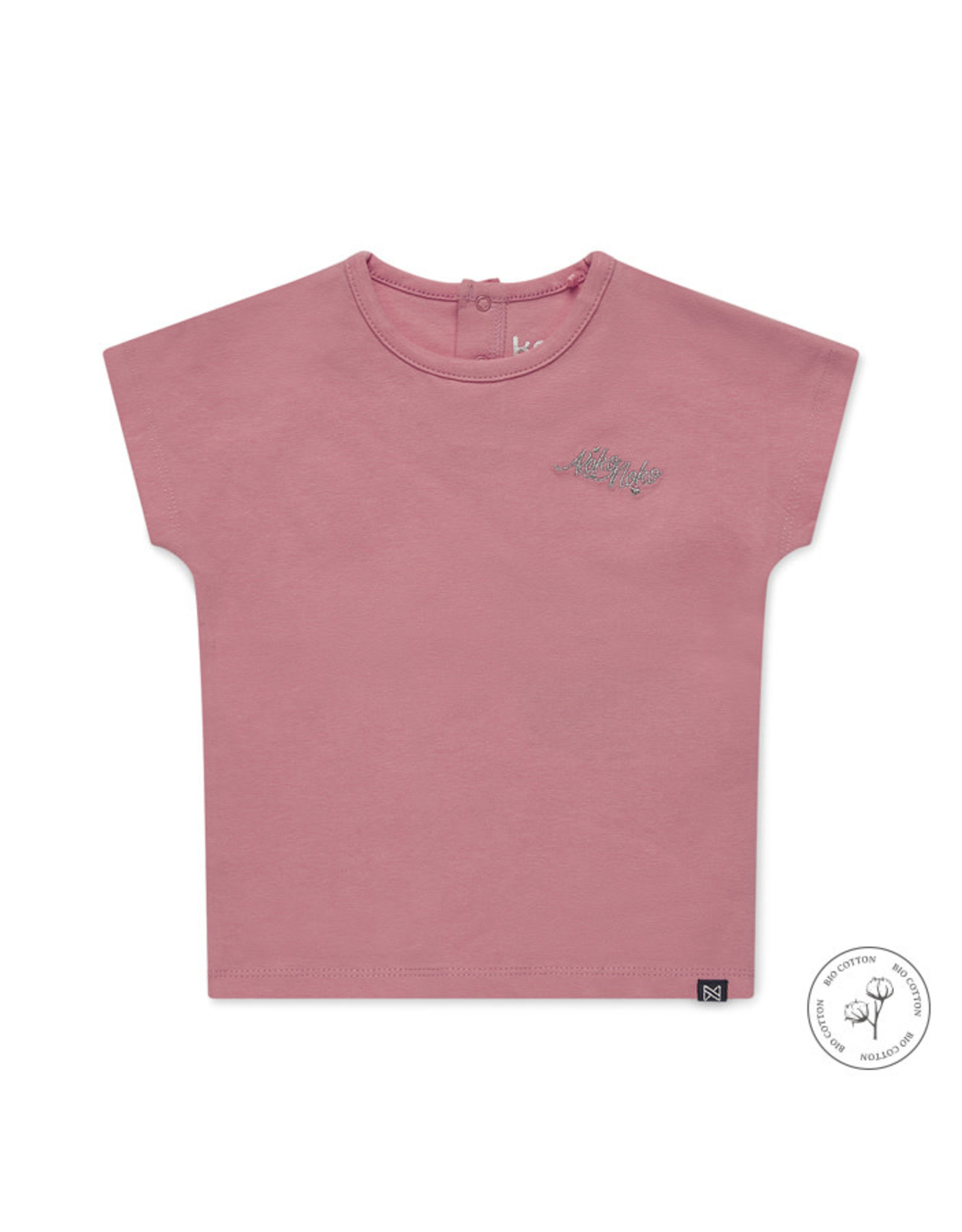 Koko Noko Girls Noemi T-shirt ss Bio Cotton Bright pink NOS