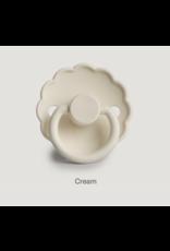 Frigg Fopspeen Daisy 2-pack Silicone Blush/Cream T1