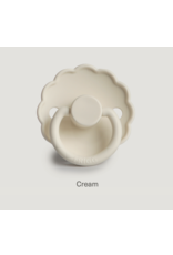 Frigg Fopspeen Daisy 2-pack Silicone  Blush/Cream T2
