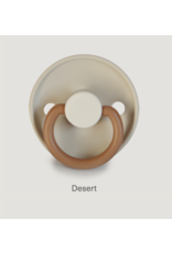 Frigg Fopspeen Color 2-pack Silicone Desert/Cappuccino T2