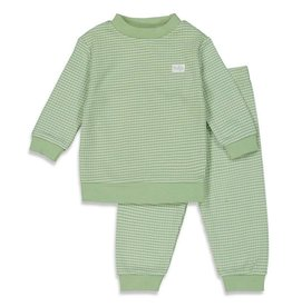 Feetje Pyjama wafel Groen summer special