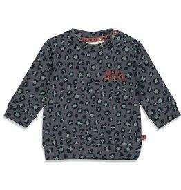 Feetje Sweater AOP - Wild Thing Antraciet